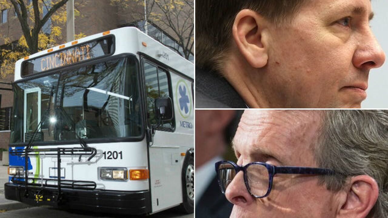 With no transit tax on the ballot, Ohio governor's race could set stage for Metro's future