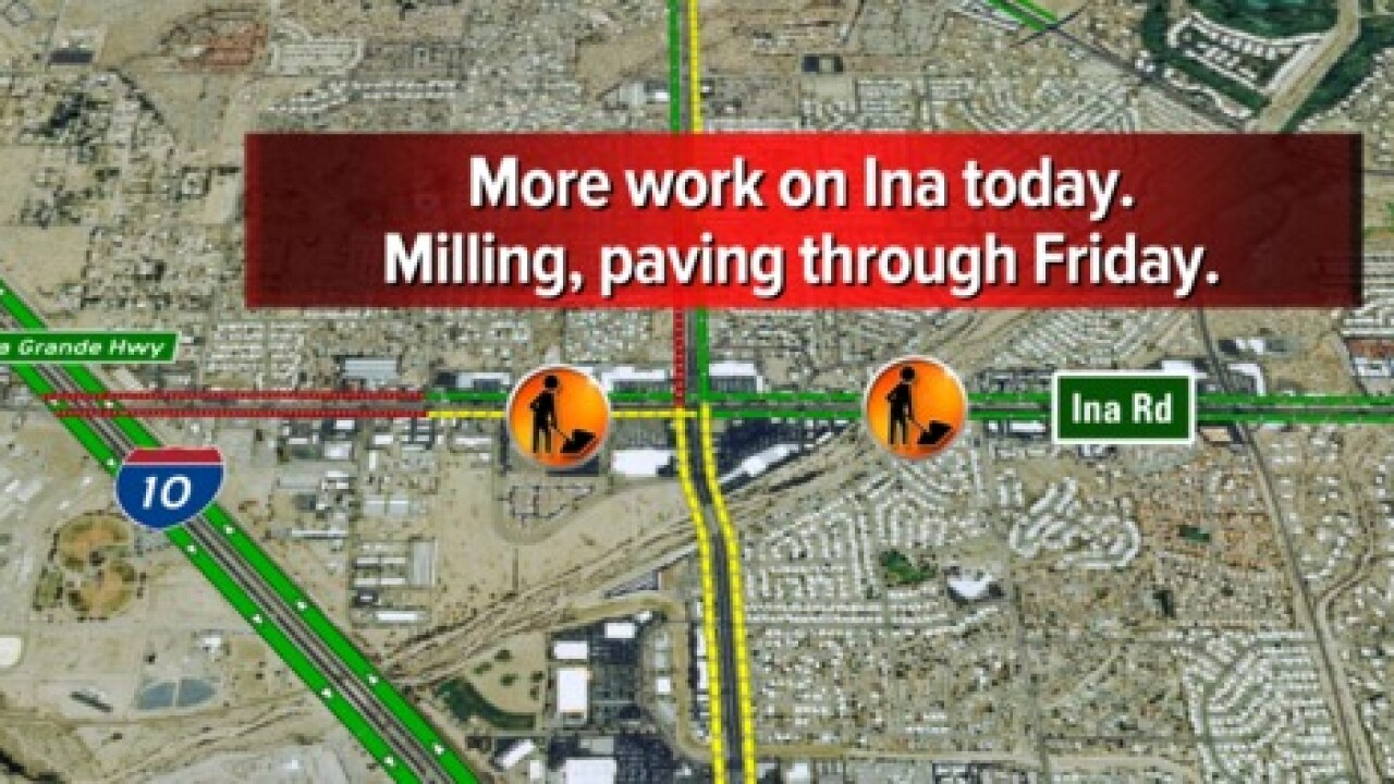 Three construction projects cause traffic issues
