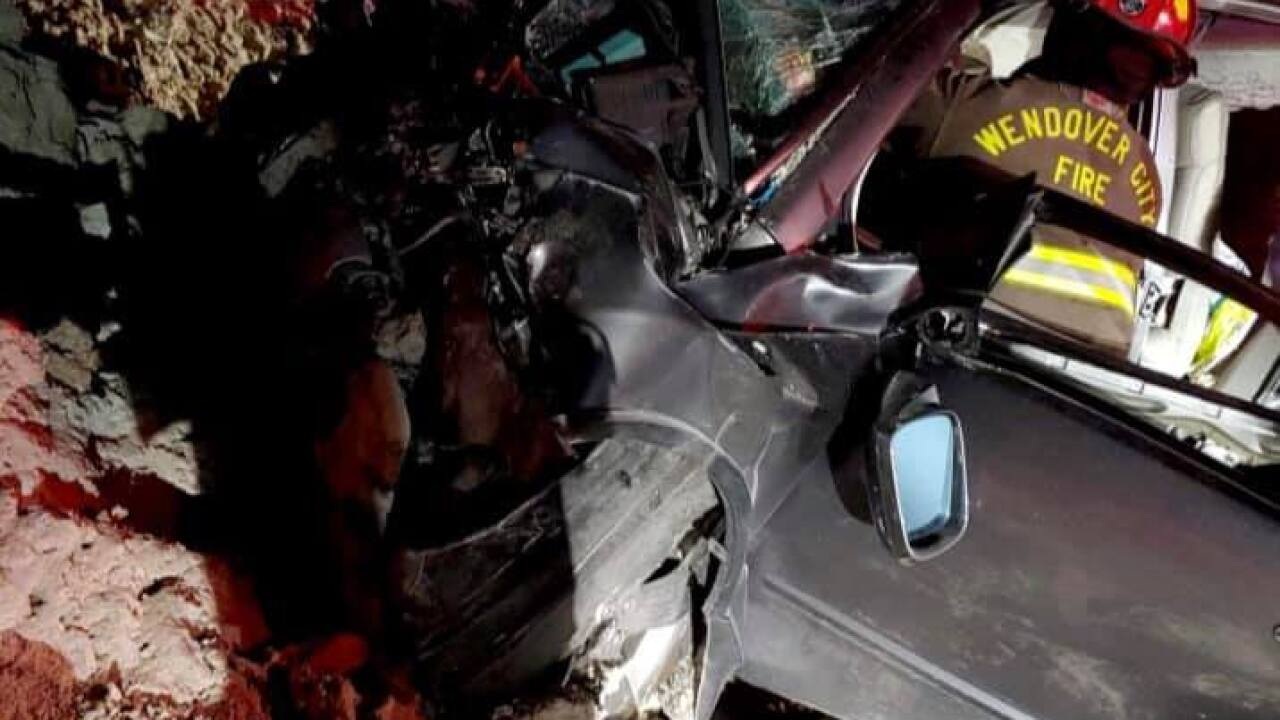 Three teenagers injured in crash at Bonneville Salt Flats