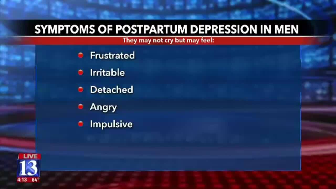 Wellness Wednesday: Dads can get postpartum depression too