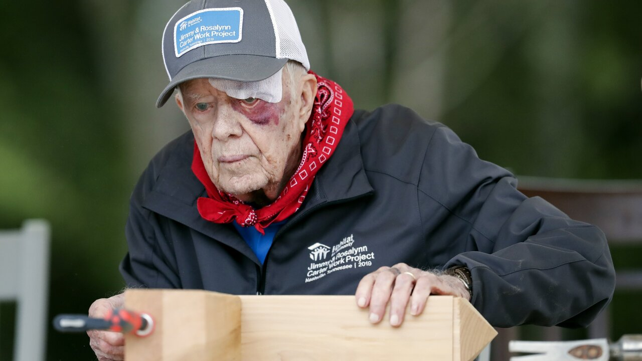 95-year-old Jimmy Carter is still living his faith through service