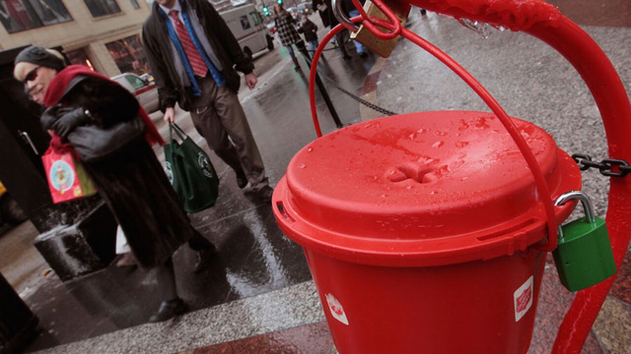 Donor drops rings worth $3,500 in charity kettle