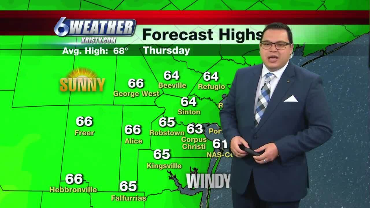 Juan Acuña's weather for Jan. 28, 2021