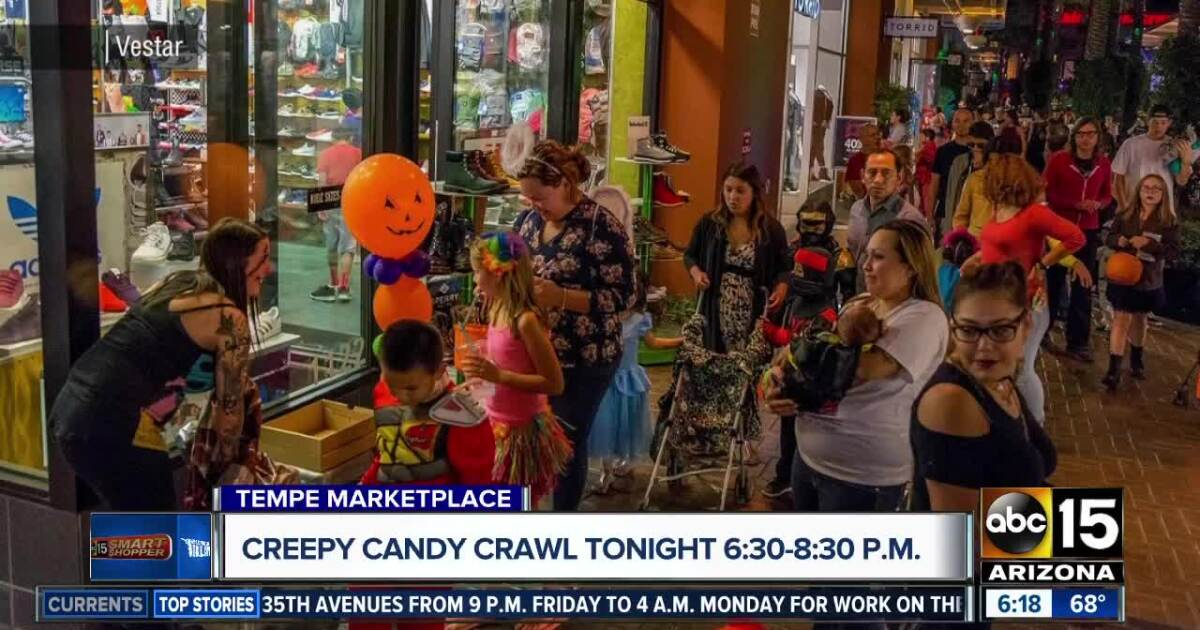 Tempe Marketplace Halloween Events 2020 THIS WEEKEND: Free Halloween trick or treating events