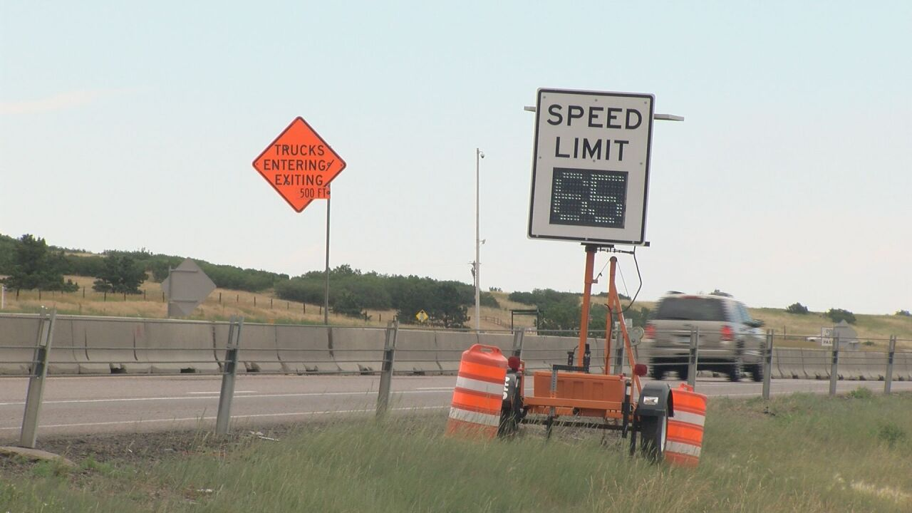 Speed reduced in Gap Project for safety