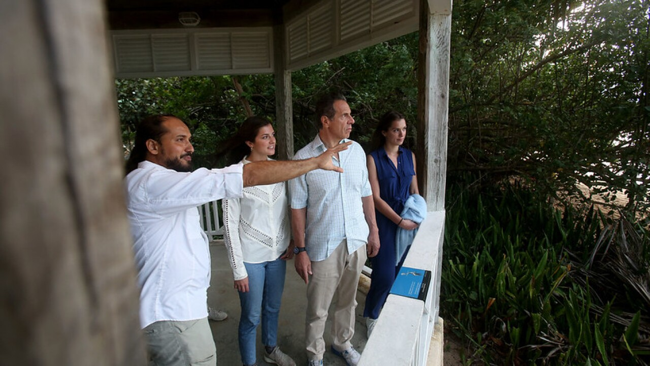 Governor Cuomo visits Las Cabezas de San Juan