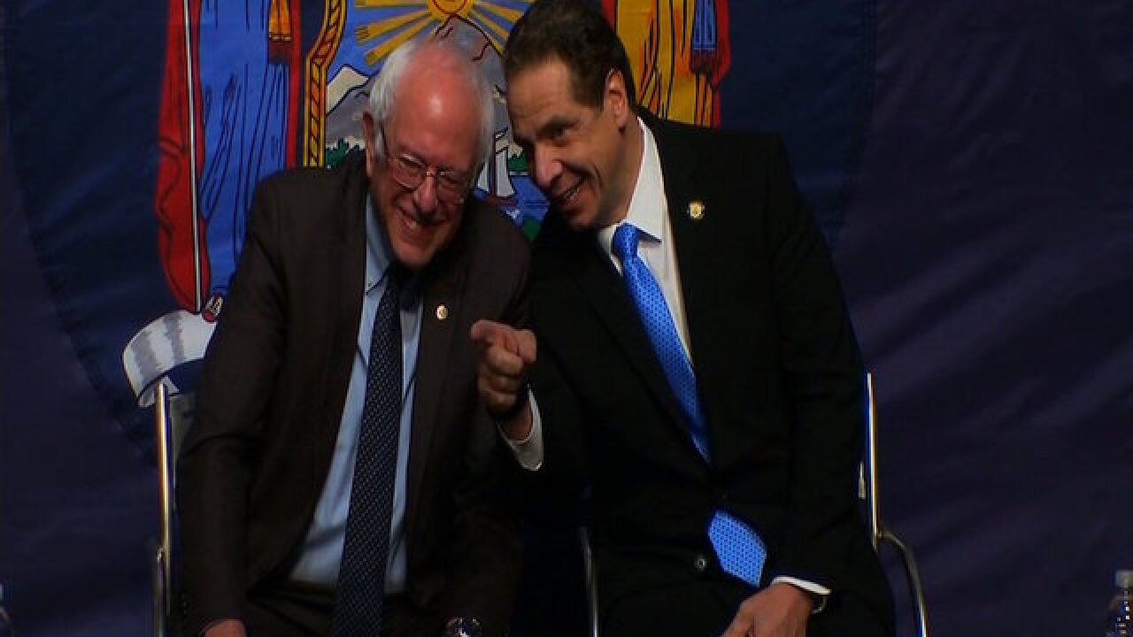 New York governor proposes free college tuition program