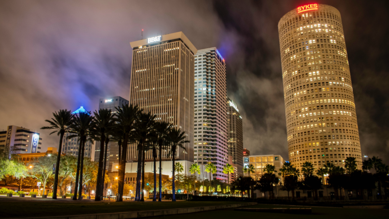 downtown Tampa Sykes building