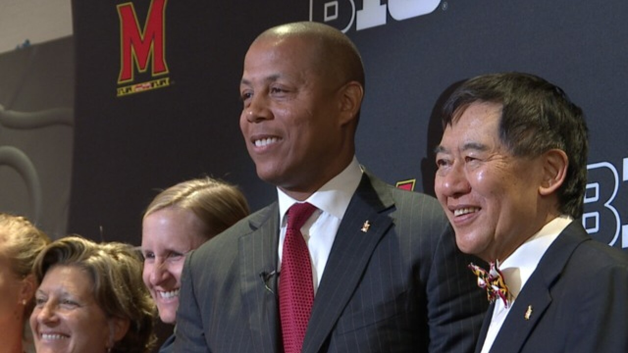 Evans introduced as new AD at Univ. of Maryland