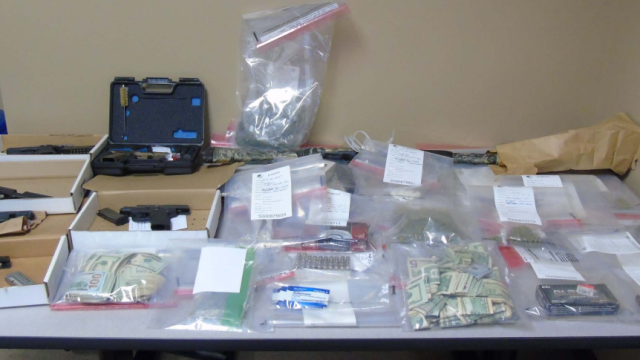 The seized drugs, according to federal prosecutors.