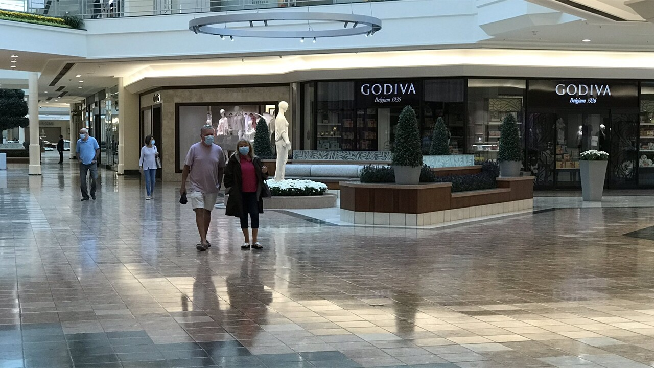 The Gardens Mall in Palm Beach Gardens opened for business on Friday, May 15, 2020.