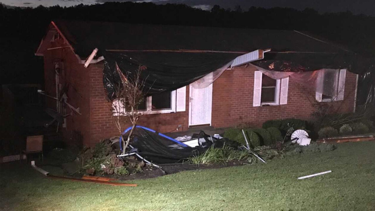 NWS: 'Likely Tornado' Damage In Cannon County