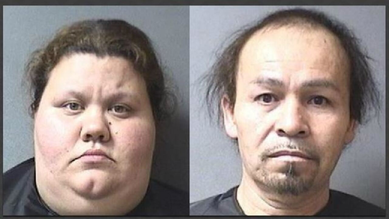 Indiana mother, stepfather accused of locking children in basement without food, water or bedding