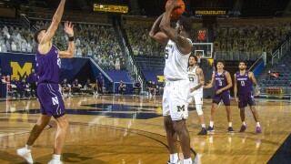 Chaundee Brown Northwestern Michigan Basketball