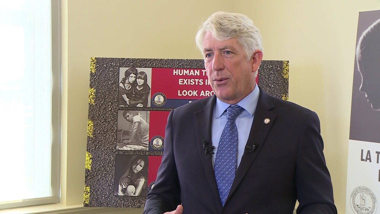 Attorney General Herring on human trafficking in Virginia: 'We will be relentless'