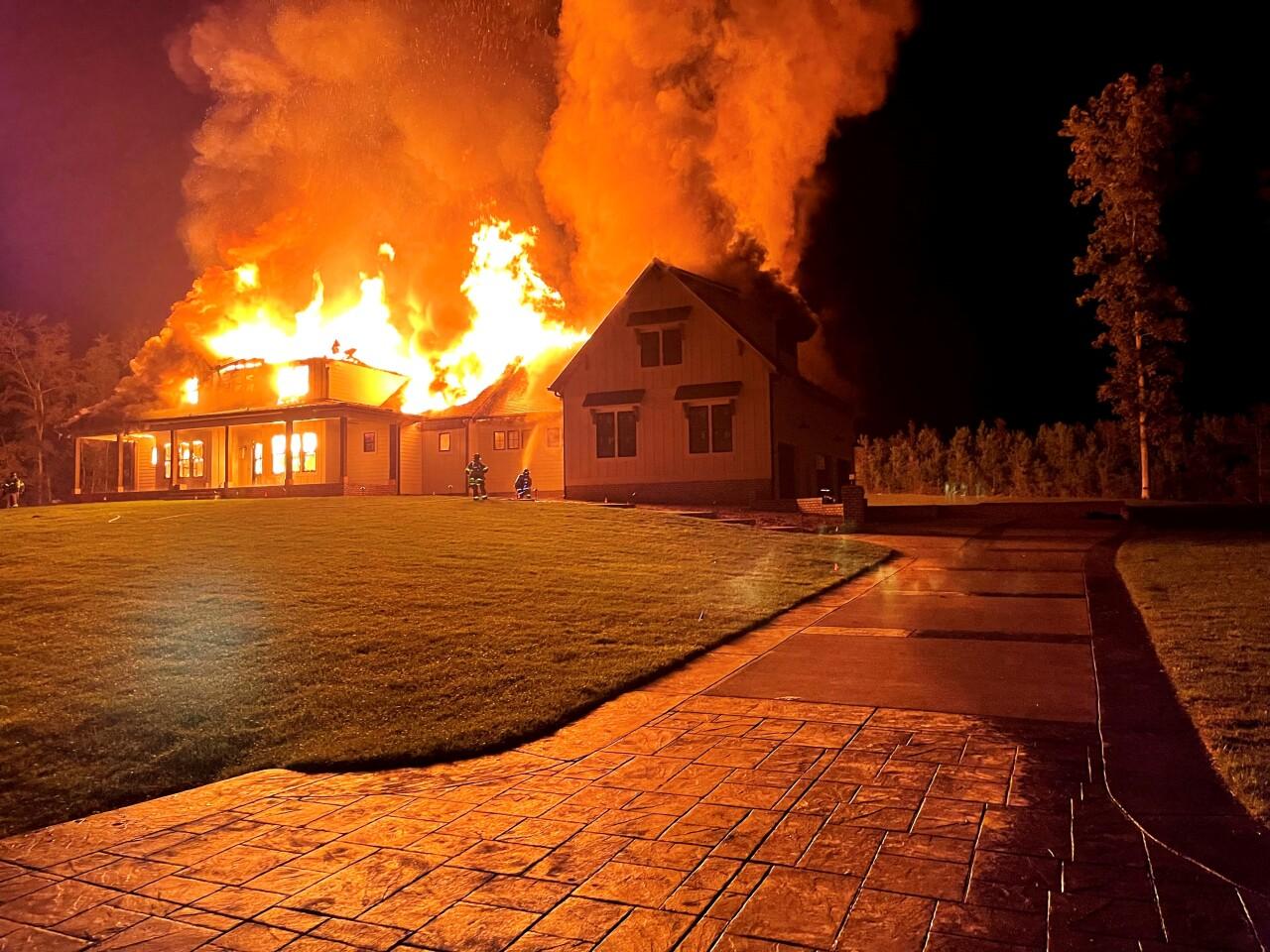 Goochland County Fire Rescue - Dover Branch Lane House Fire - October 8 2021 - 002.jpg