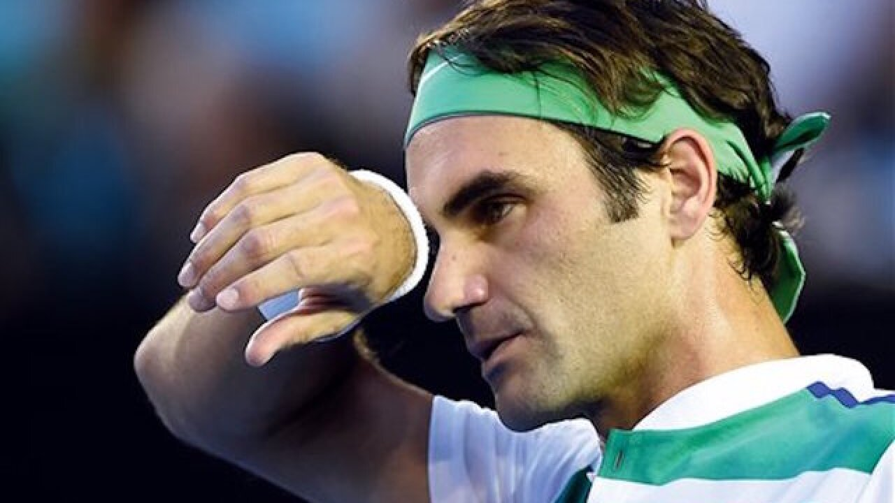 Roger Federer's knee injury will force him to miss the Rio Olympics