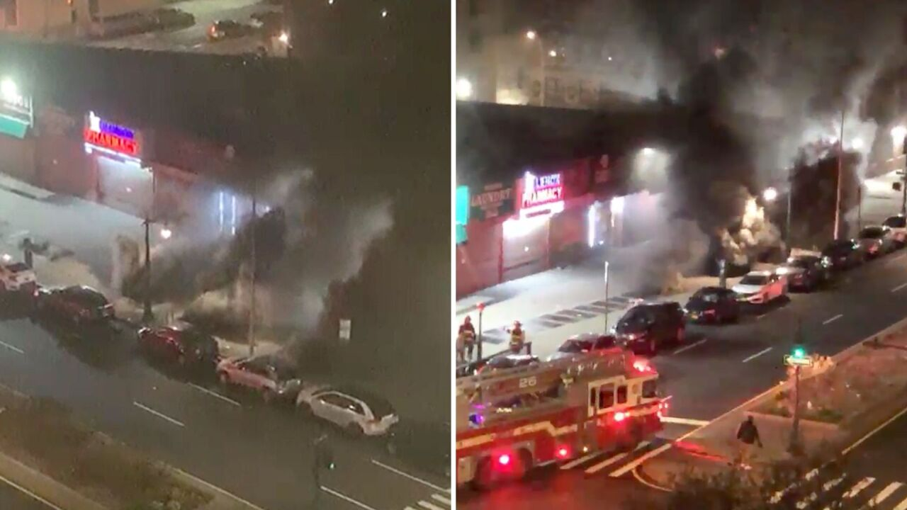4 injured in Harlem subway station fire