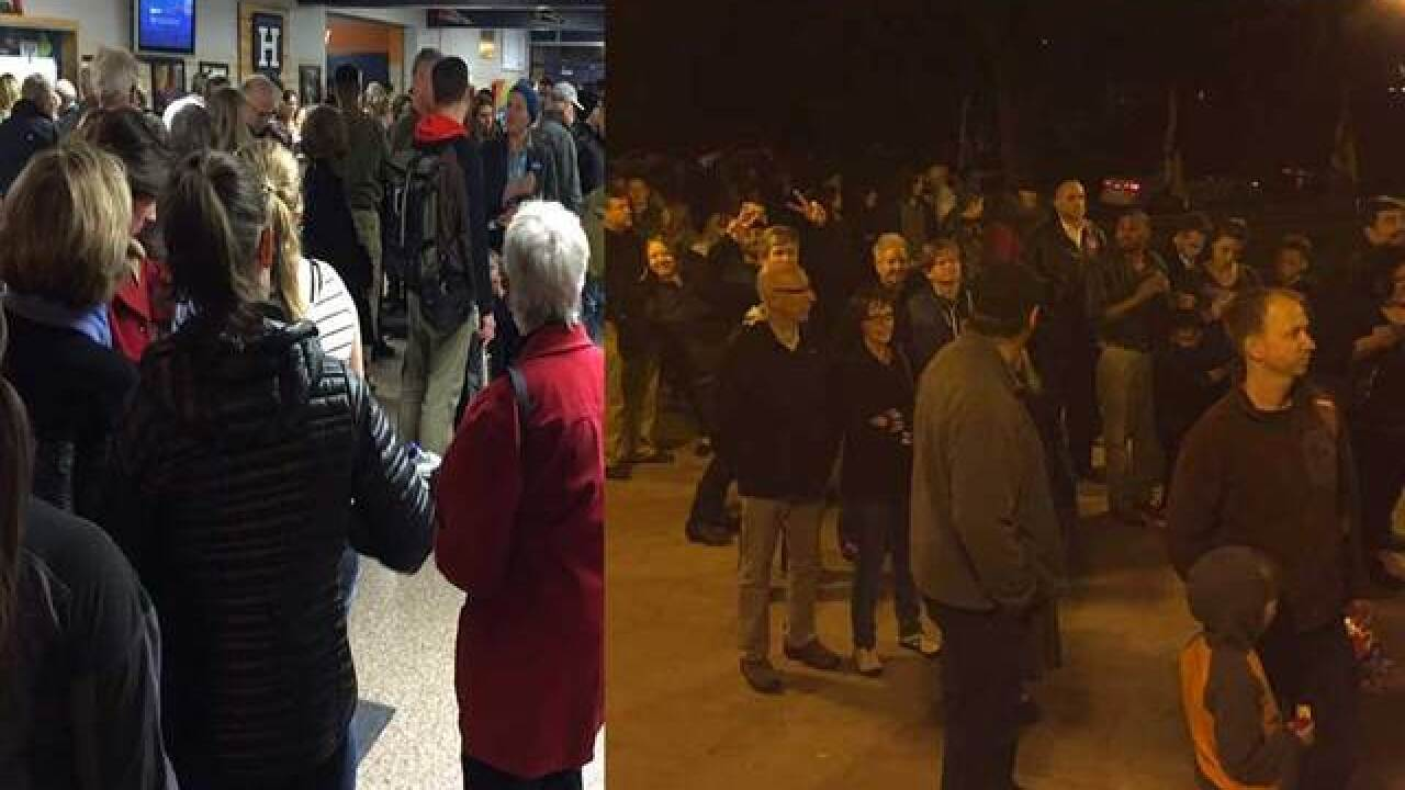 Colorado caucus-goers finding long lines