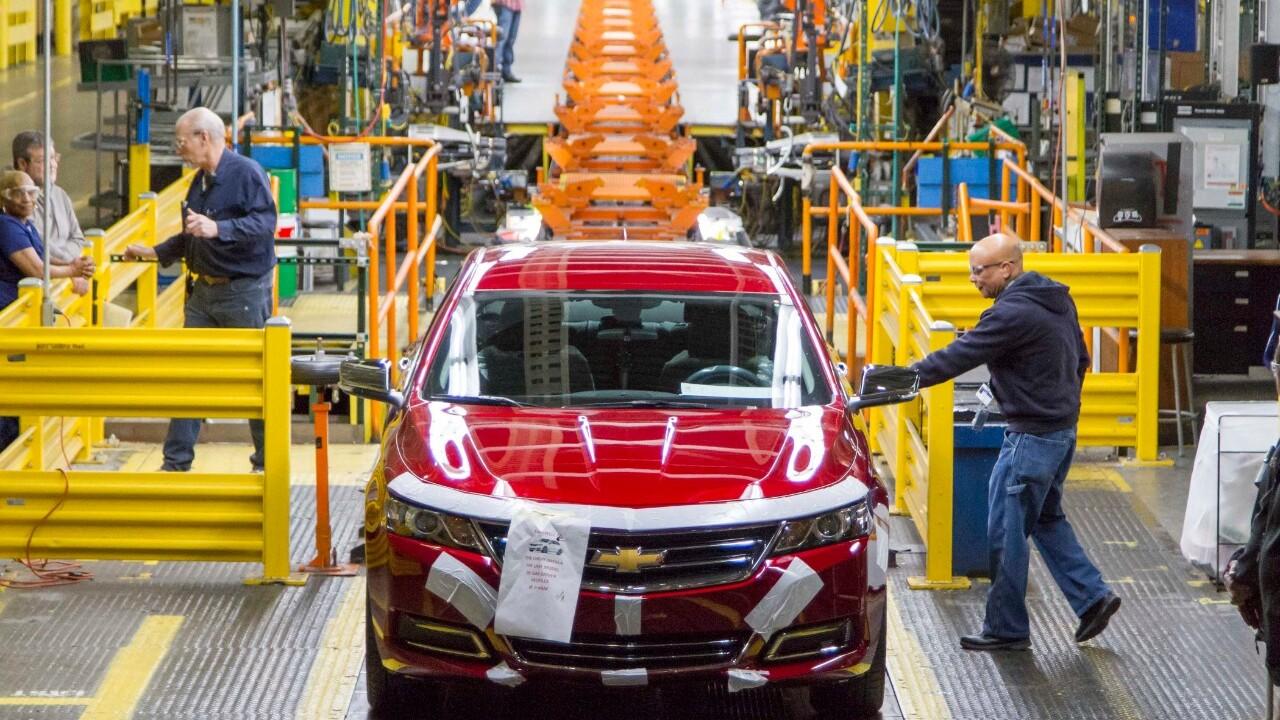 GM Detroit-Hamtramck Plant Exclusively EV