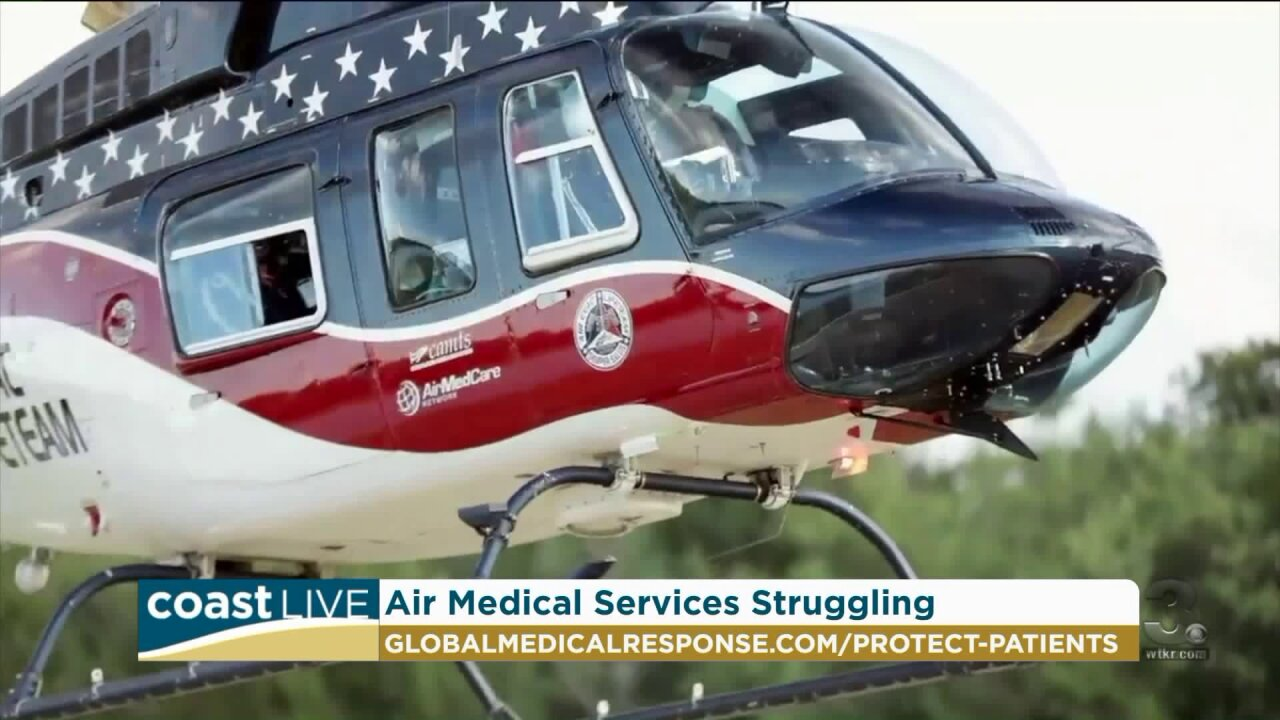 Why air medical services are struggling to stay in the air on Coast Live