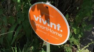 vivint smart home smarthome security sign b-roll file photo.jpg