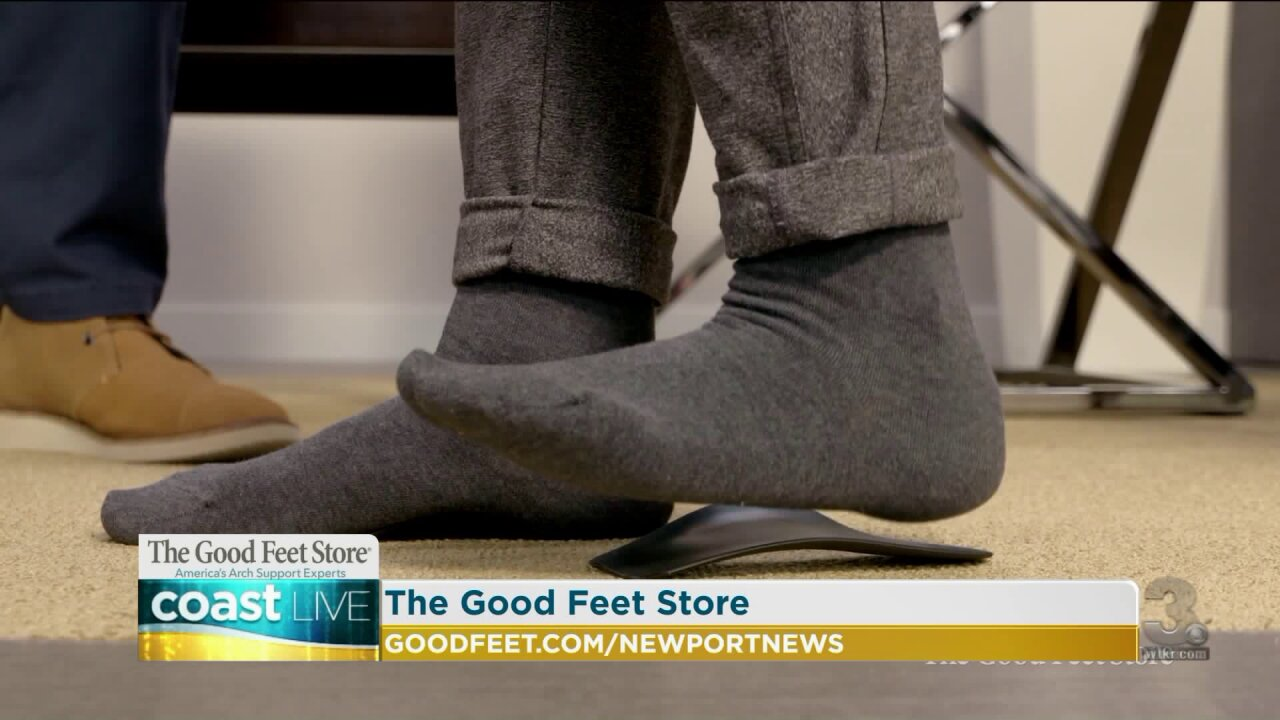 The benefits of Good Feet arch supports for new mothers on CoastLive