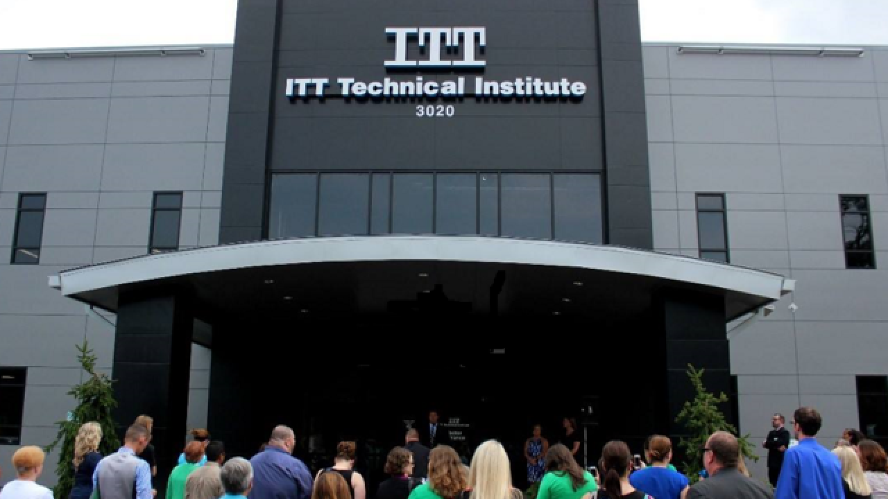 ITT Tech parent company files for bankruptcy