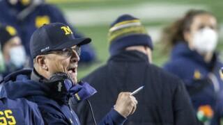 Jim Harbaugh Michigan coach 2020
