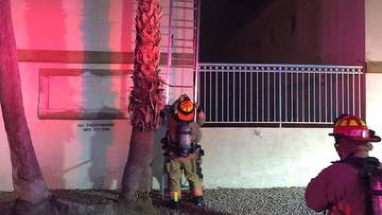 Owners react after vacant apartment fire
