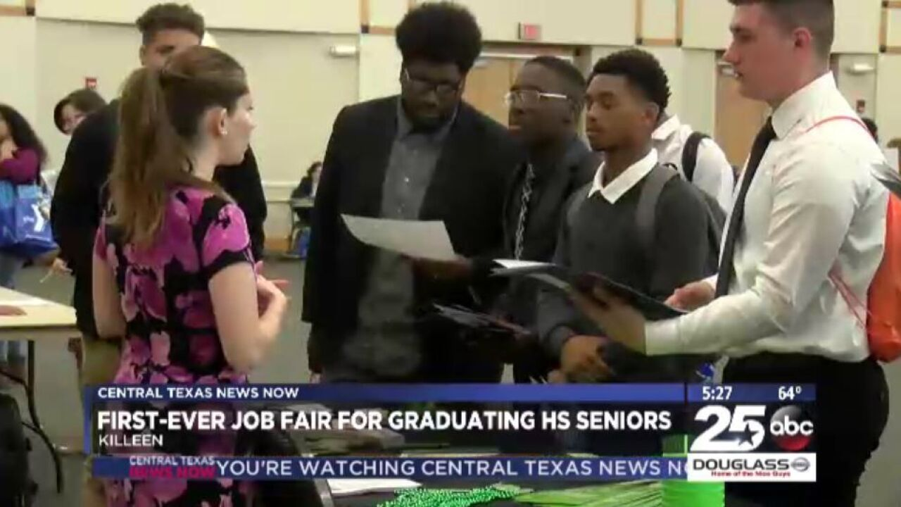 Killeen ISD holds first district-wide graduating job fair for high school seniors