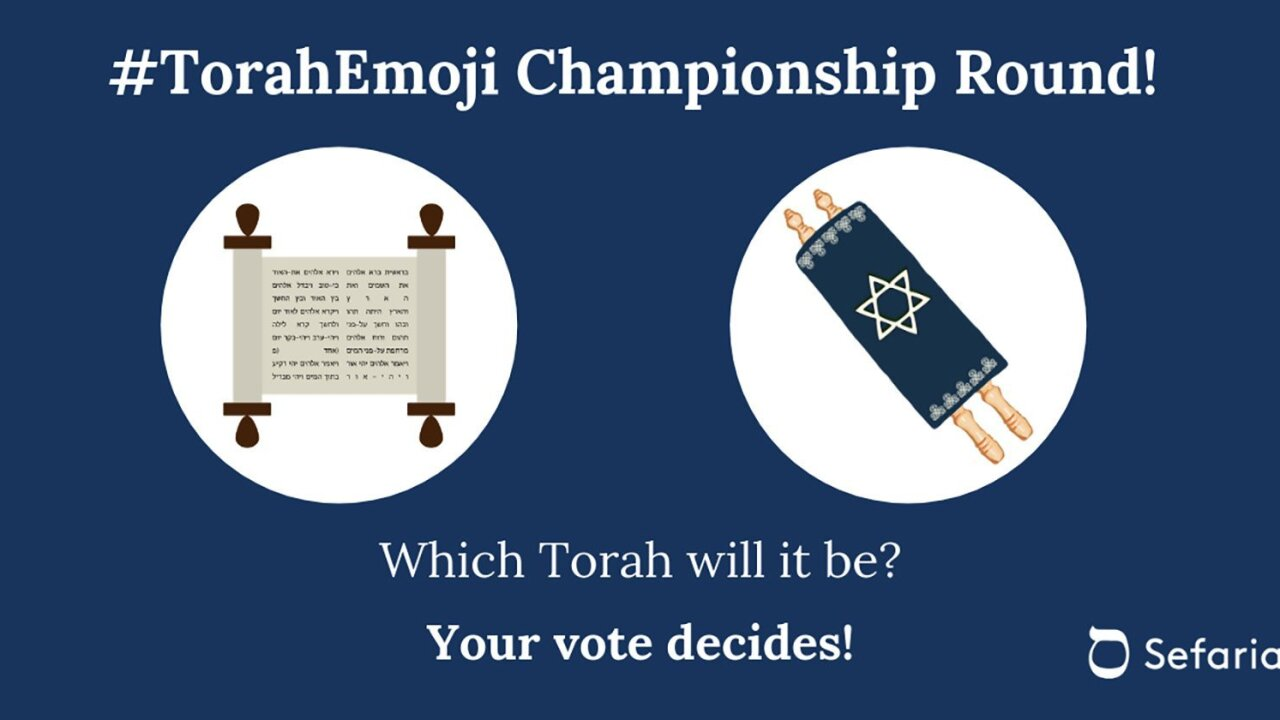 Will there soon be a Torah emoji?