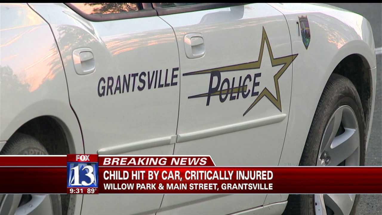 Child struck, injured by car in Grantsville