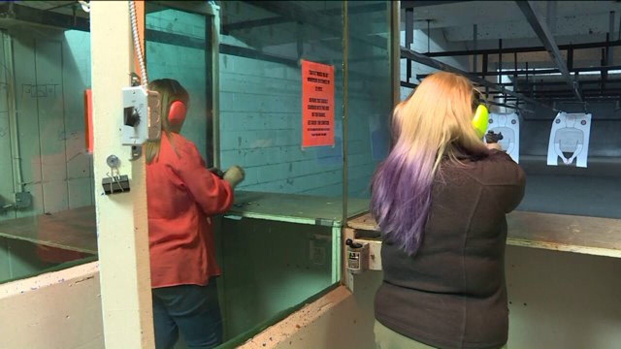 Local gun shop helping women get concealed carry permits