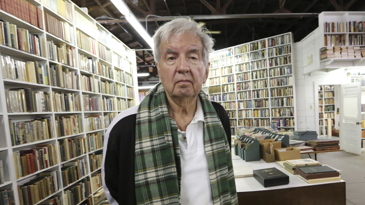 "Larry McMurtry, the prolific and popular author who took readers back to the old American West in his Pulitzer Prize-winning ""Lonesome Dove"" and returned them to modern-day landscapes in works such as his emotional tale of a mother-daughter relationship in ""Terms of Endearment,"" has died. He was 84. Photo via AP."