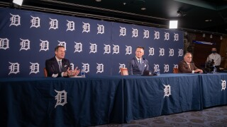 AJ Hinch answers questions about his past as Tigers hire him to guide their future