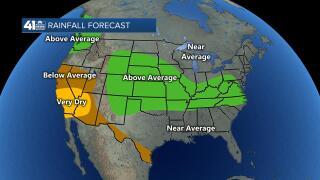 Rainfall Forecast April - June