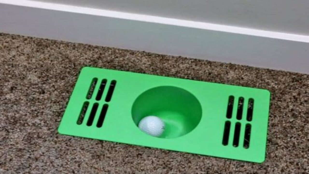 Turn Your House Into A Mini Golf Course With These Fun Vent Covers