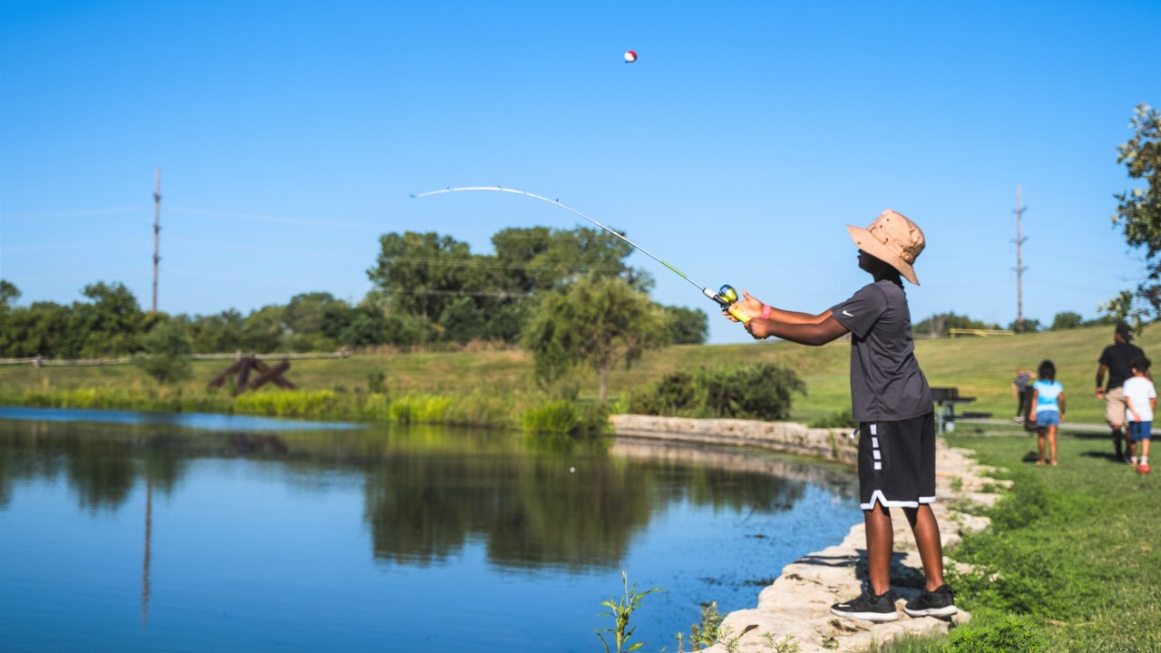 The second annual Youth Fishing Derby at Big Lake Park will be held on August 14 from 9 a.m. to 2:15 p.m.
