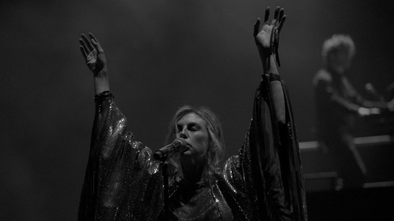 Phantogram hits Red Rocks with a vengeance