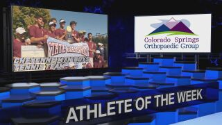 KOAA Athlete of the Week: Cheyenne Mountain Boys Tennis