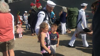 Photos: USS Mitscher returns to Hampton Roads from 7.5 month deployment
