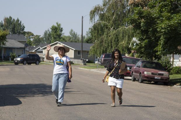 Canvassers go door-to-door looking to amplify the voices of Idaho Latinos