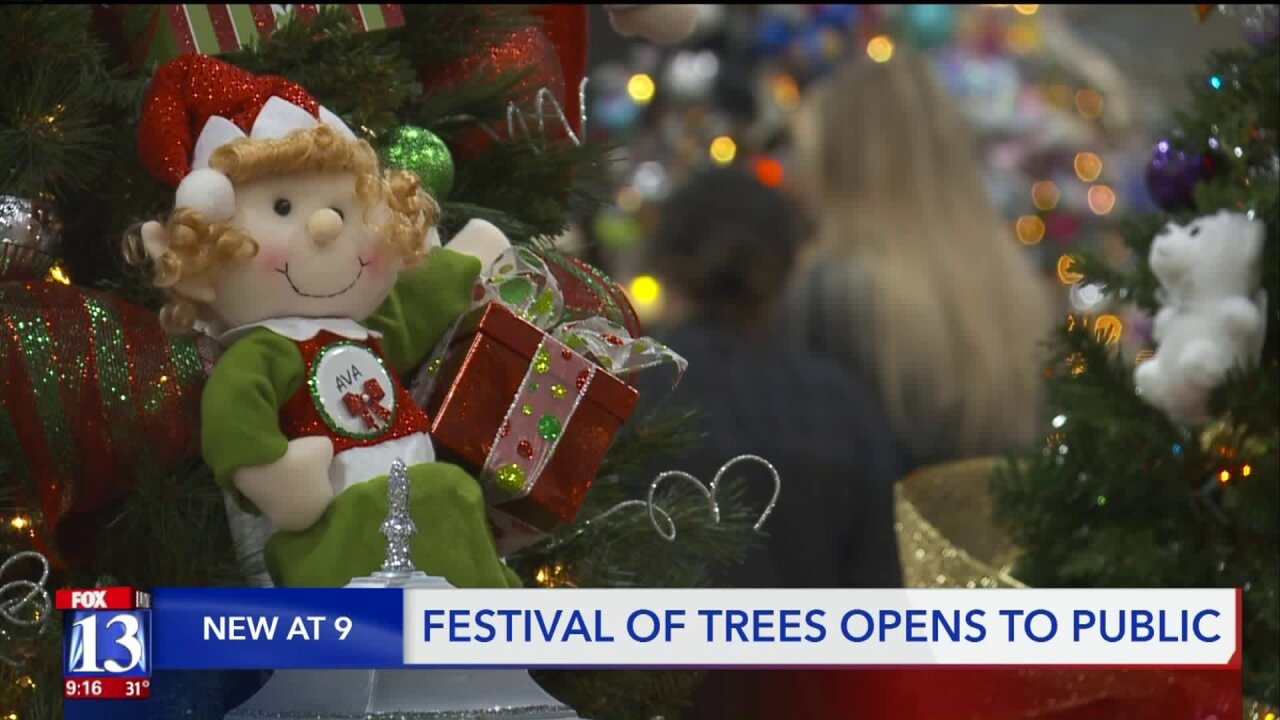 Festival of Trees opens in Sandy