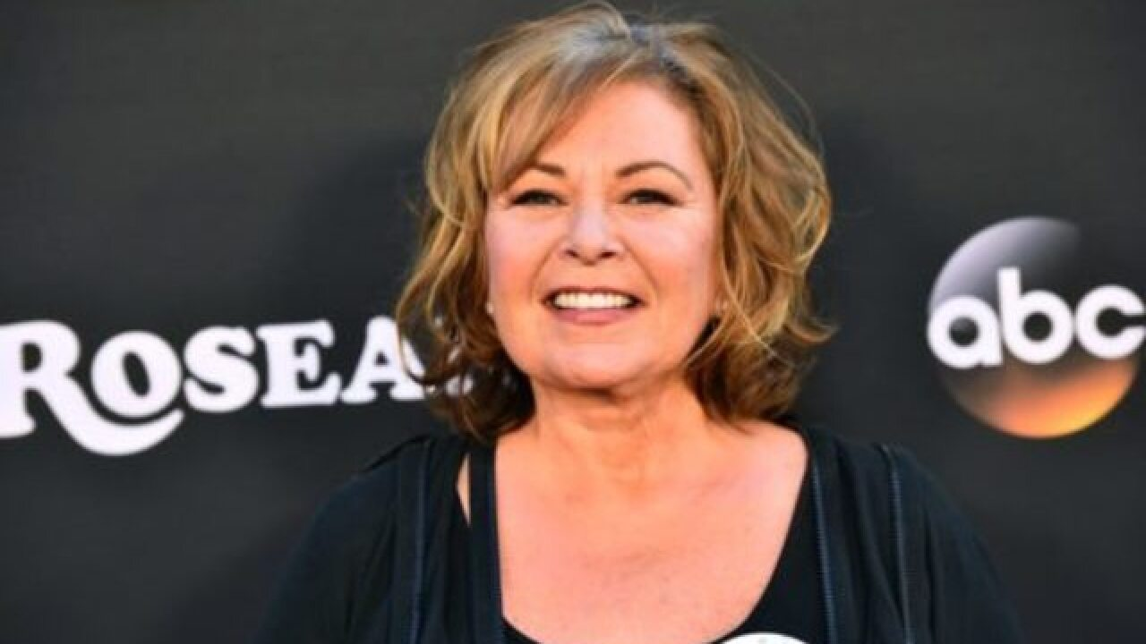 Roseanne Barr cites conspiracy theory in tweet supporting President Trump