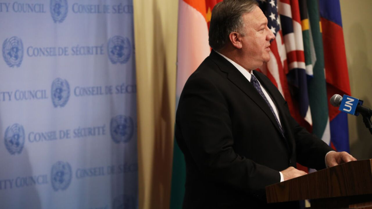 State Department bars press corps from Pompeo briefing, won't release list of attendees