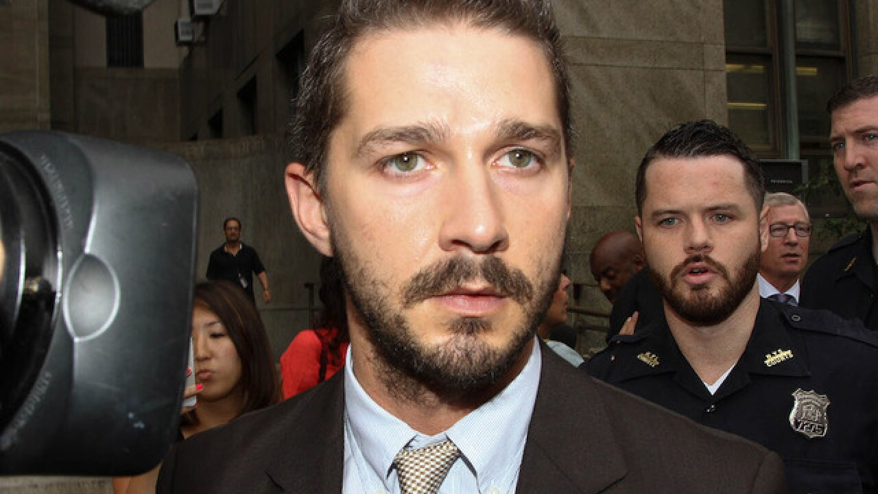 Actor Shia LaBeouf arrested on public drunkenness charge