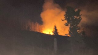 Firefighters attack new fire in Helena-Lewis and Clark National Forest