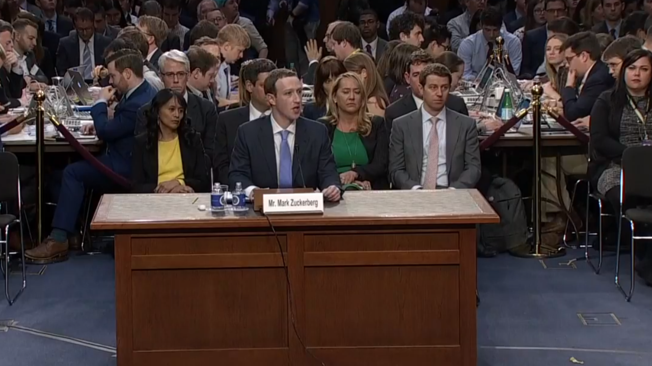 Watch: Facebook CEO Mark Zuckerberg testifies beforeCongress