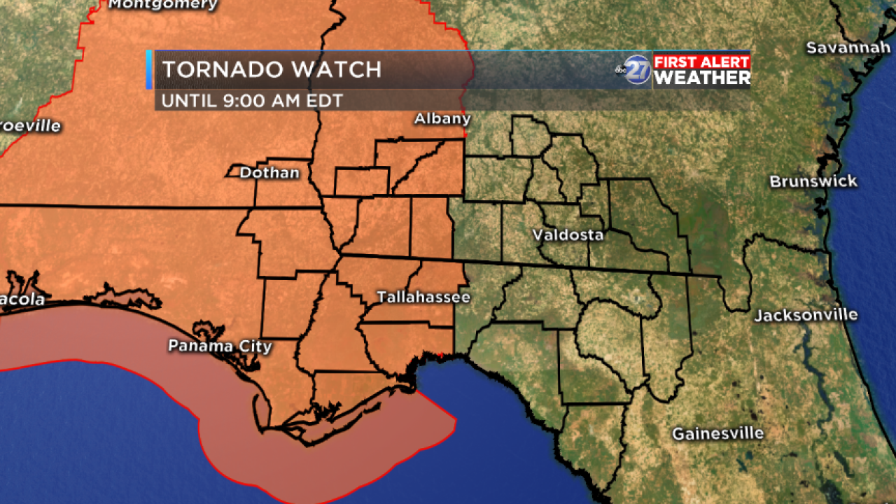 9AM TORNADO WATCH